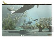 Animals And Floral Life Carry-all Pouch