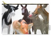 Animals Figurines Carry-all Pouch