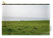 Animals Grazing In A Field Along The Cliffs Of Moher Carry-all Pouch