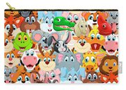 Animals Zoo Carry-all Pouch