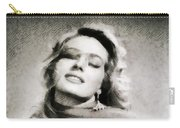 Anita Ekberg, Hollywood Legend By John Springfield Carry-all Pouch