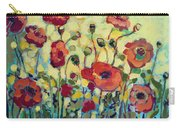 Anitas Poppies Carry-all Pouch