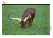 Ankole Cattle Eating Carry-all Pouch