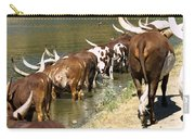 Ankole-watusi Cattle Carry-all Pouch
