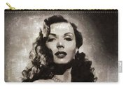 Ann Miller, Vintage Actress Carry-all Pouch