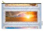 Anna Maria Island Beach Collage Carry-all Pouch