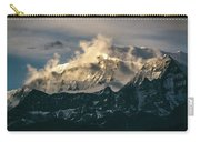 Annapurna Mountain Range In Evening Sunlight Carry-all Pouch
