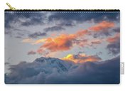 Annapurna South Peak In Sunset Clouds Carry-all Pouch