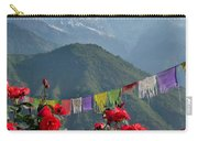 Annapurnas And Prayer Flags Carry-all Pouch