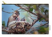 Anna's Hummingbirds Carry-all Pouch