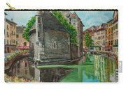 Annecy-the Venice Of France Carry-all Pouch