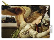 Announcing Angel, Detail From Annunciation Carry-all Pouch