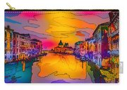 Another Surreal Venice Sunset Carry-all Pouch