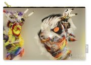 Pow Wow Another World Another Time Carry-all Pouch
