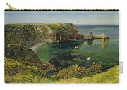 Anstey's Cove In Devon Carry-all Pouch by John William Inchbold