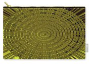 Ant Nest Abstract Fabric Design # 2 Carry-all Pouch