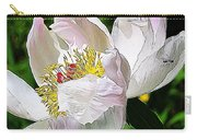 Ant On Peony Carry-all Pouch