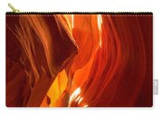 Antelope Canyon Wavy Abstract Carry-all Pouch