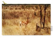 Antelope In Kenya Carry-all Pouch