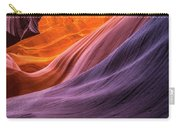 Antelope Rainbow Color Wave  Carry-all Pouch