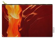 Antelope Textures And Flames Carry-all Pouch