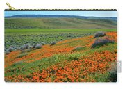 Antelope Valley Poppy Reserve Carry-all Pouch