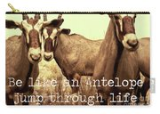 Antelopes Carry-all Pouch