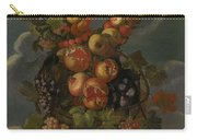 Anthropomorphic Allegory Of Autumn Carry-all Pouch