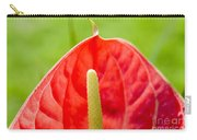 Anthurium Close-up Carry-all Pouch