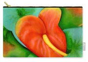 Anthurium Flowers #228 Carry-all Pouch