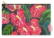Anthurium Flowers Carry-all Pouch