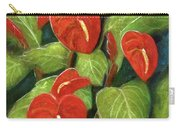 Anthurium Flowers #231 Carry-all Pouch