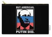 Anti Trump Art Impeach President Resist Putin Dark Carry-all Pouch