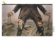 Anti-trust Cartoon, 1879 Carry-all Pouch