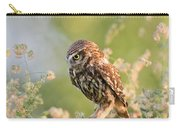 Anticipation - Little Owl Staring At Its Prey Carry-all Pouch