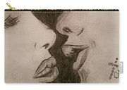 Anticipation Of A Kiss Carry-all Pouch