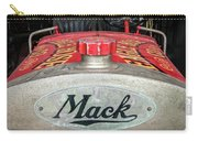 Antique 1930 Mack Bc-cd Fire Truck Carry-all Pouch