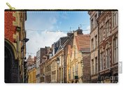 antique building view in Old Town Lille, France Carry-all Pouch