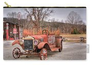 Antique Car And Filling Station 1 Carry-all Pouch
