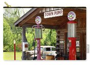 Antique Car And Filling Station 2 Carry-all Pouch