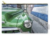 Antique Car And Mural 2 Carry-all Pouch