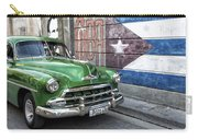 Antique Car And Mural Carry-all Pouch