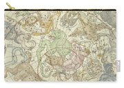 Antique Celestial Map Carry-all Pouch