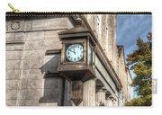 Antique Clock  Edenton North Carolina Carry-all Pouch