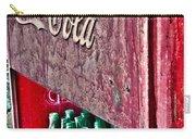 Antique Coca Cola Coke Refrigerator Carry-all Pouch