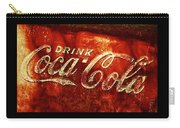 Antique Coca-cola Cooler II Carry-all Pouch