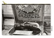Antique Decca Gramophone By Kaye Menner Carry-all Pouch