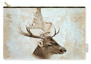 Antique Deer Carry-all Pouch