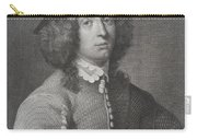 Antique Engraving Of An Elegant Gentleman Carry-all Pouch