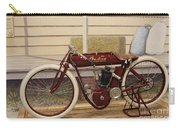 Antique Indian Motorcycle Red...   # Carry-all Pouch